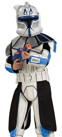 Star Wars Clone Wars Clone Trooper Child's Deluxe Captain Rex Costume