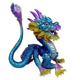 Dragonology Miniatures Series 1 - Asian Lung Dragon - 1