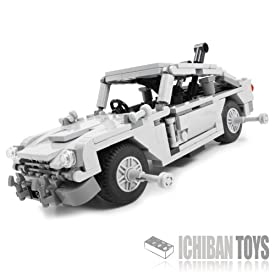 MI6 Spy Car - Custom LEGO Element Kit