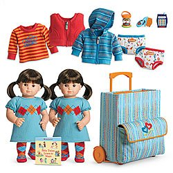 6pc Deluxe Clothing Set for Bitty Baby® and Bitty Twins® type Dolls