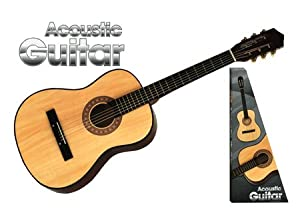 Professional Wooden Acoustic Guitar 6 Strings 38""