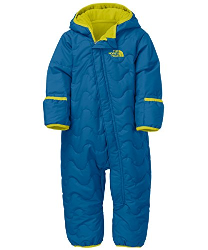 The North Face Baby Boys' Toasty Toes Bunting - Snorkel Blue, 3 - 6 Months front-896856
