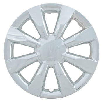 CCI IWC424-15C 15 Inch Clip On Chrome Finish Hubcaps - Pack of 4