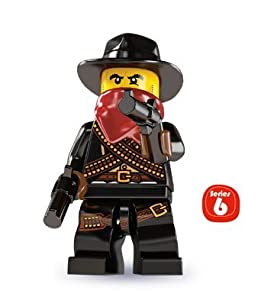 LEGO Collectable Minifigures: Bandit Minifigure (Series 6)