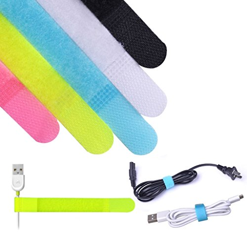 avantree-20-unidades-de-tiras-sujetacables-en-5-colores-cierre-en-3-tamanos-diferentes-para-gestiona