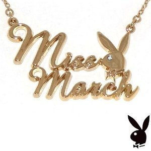 playboy-gold-plated-miss-march-necklace