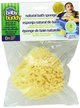 Baby Buddy's Natural Baby Bath Sponge 4-5