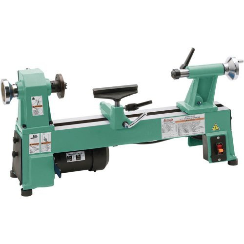 Best Price Grizzly H8259 Bench-Top Wood Lathe, 10-Inch