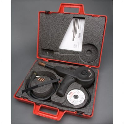 100SG 130 Amp Air Cooled Spool Gun With 10' Cable (In Carrying Case With Accessories)