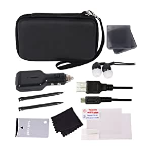 [UK-Import]Crown Deluxe 12-in-1 Accessory Pack Black 3DS