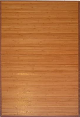 3' X 5' Bamboo Floor Rugs. (Natural / Brown Colors)