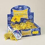 Rite Lite CH-GELT-24 Chanukah Gelt Milk Chocolatey Coins - 24 Bags-Display Box - Pack Of 24