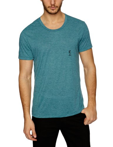 religion B213 CUF23 Printed Men's T-Shirt Sea Pine Small