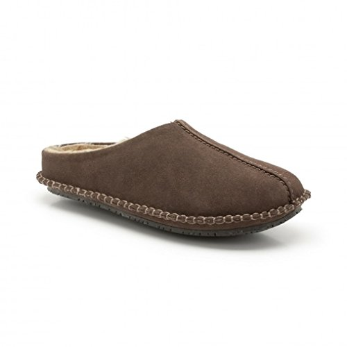 clarks-mens-slip-on-slippers-kite-nordic-brown-suede-9-uk-g