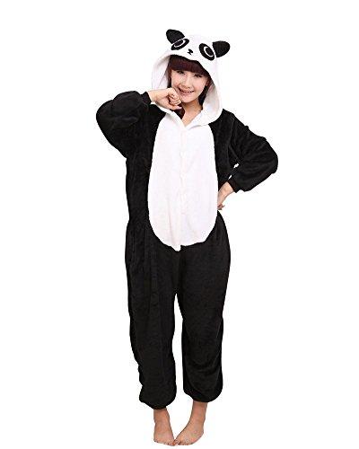 SaiDeng Warm Anime Costume Sleepwear Adult Cosplay Style Pajamas Size M Panda