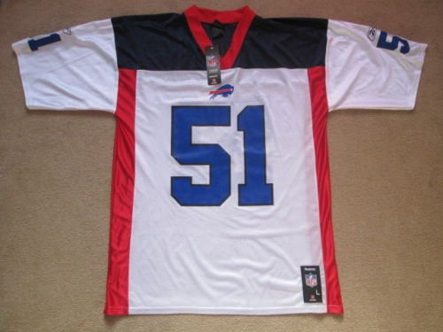 US-Sports Buffalo Bills NFL American Football Jersey - Posluszny #51 - Mens Large NWT