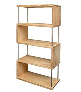 Libreria da parete mobile divisorio scaffale per ufficio for Mobile divisorio soggiorno