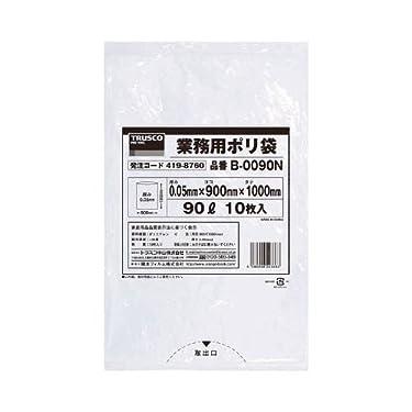 TRUSCO 業務用ポリ袋0.05X90L(透明) B0090N