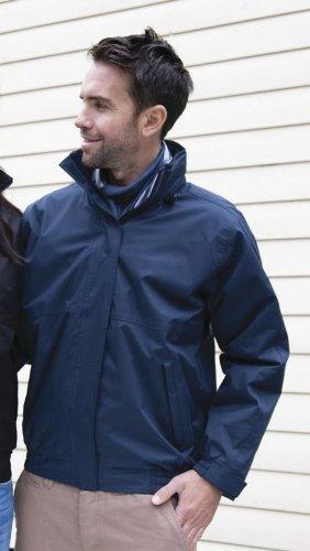 Result Core Men's Channel Jacket-Black-sizeXL