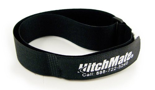 "Fantastic Deal! Heininger HitchMate 4083 QuickCinch Black 21"" hook and loop Soft Strap, (Pack o..."