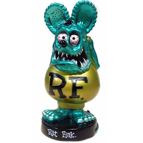 FUNKO Wacky Wobbler RAT FINK (メタリックブルー) 限定生産品 ラットフィンク ボビングヘッド 首振り人形 フィギュア