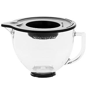 kitchenaid 4 8 litre glass bowl for kitchenaid mixer