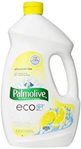 Palmolive Eco Gel  Dishwasher Detergent, Lemon Splash, 45 Ounce (Pack of 3)