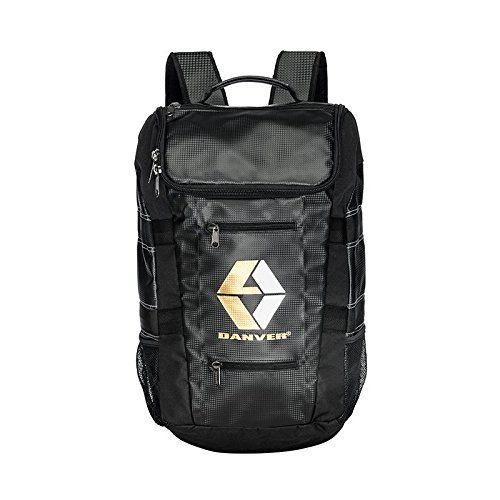 Danver Reckless Carbon Zaino Sportivo, Nero, 30 L