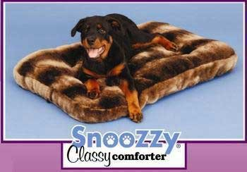 Precision Pet SnooZZy Classy Comforter Sable Colored Dog Bed