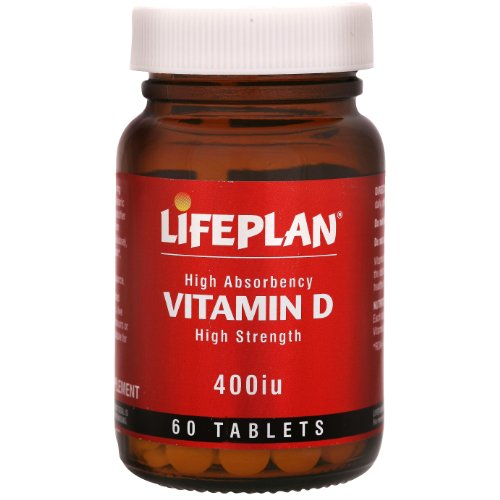 Lifeplan 400 iu Vitamin D 60 Tablets