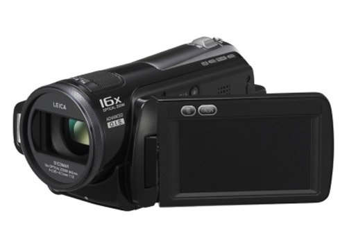 Panasonic HDC-SD20 High Definition Flash Memory Camcorder with Intelligent Auto Mode & 16x Optical Zoom - Black