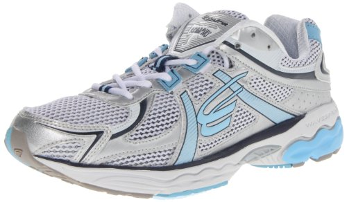 Spira Women'S Scorpius Stability Running Shoe,White/Denim/Sky,12 B Us