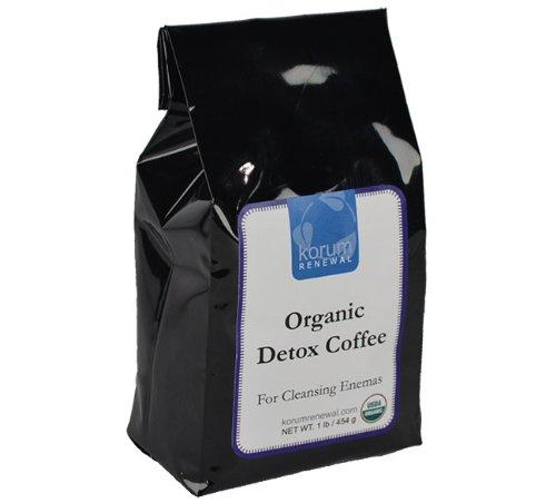 Korum Renewal Organic Detox Enema Coffee - 1 Lb. Whole Bean - Ideal For Gerson Therapy