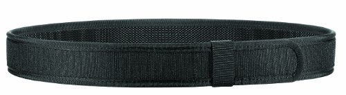 Bianchi 8105 Nylon Liner Belt - Hook - Black, Waist Size 24-