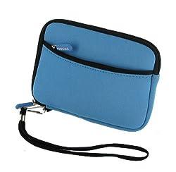 rooCASE SLV2 Neoprene Sleeve (Berry Blue) Carrying Case for Tom Tom VIA 1535 5-inch