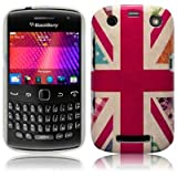 Blackberry Curve 9360 'Hope and Glory' Union Jack (Designed by Creative Eleven) TPU Gel Skin / Case / Cover Part Of The Qubits Accessories Rangeby Qubits