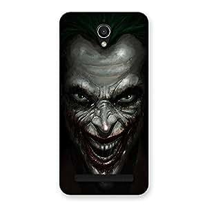 Impressive Mad face Multicolor Back Case Cover for Zenfone Go