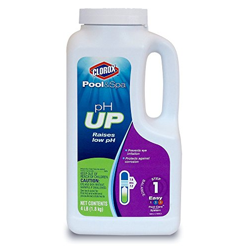Clorox Pool&Spa 19004CLX pH Up, 4-Pound
