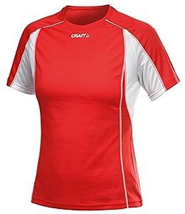 Craft Women's Running T-Shirt Red Large