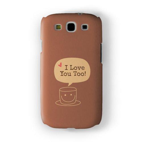 Coffee Quote I love you too H lle komplett in hochwertigem 3D Druck