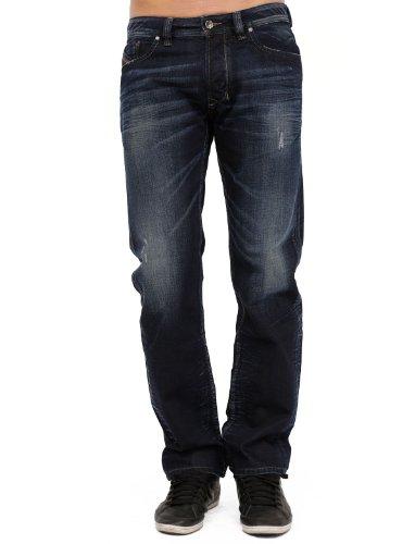 Diesel Larkee 880f Straight Blue Man Jeans Men - W29l32