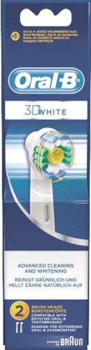 """Aufsteckbürste """"Oral-B EB 3D White"""" 849308 BRAUN AUFSTECKB. 3D WHITE 2ER 849308-425951"""
