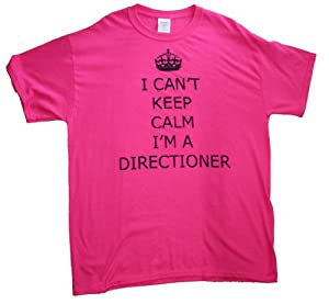 21 Century Clothing Women's I can't keep calm Directioner One Direction T-Shirt