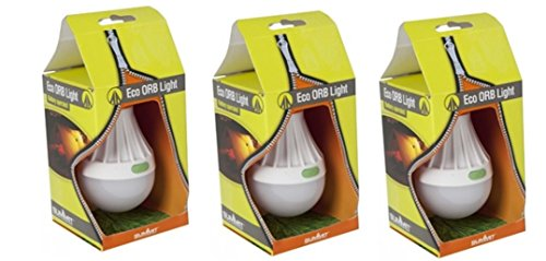 4 X Eco Orb Light, Camping Lantern, Shed Light, Cupbard Light