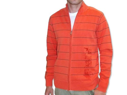 GIN TONIC Cardigan in Orange -