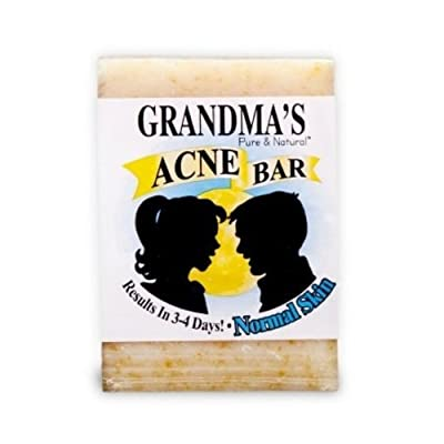 Grandma's Pure & Natural Acne Bar, 4oz - Normal Skin