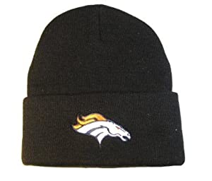 NFL Cuff Beanie Denver Broncos - Black by NFL Team Apparel