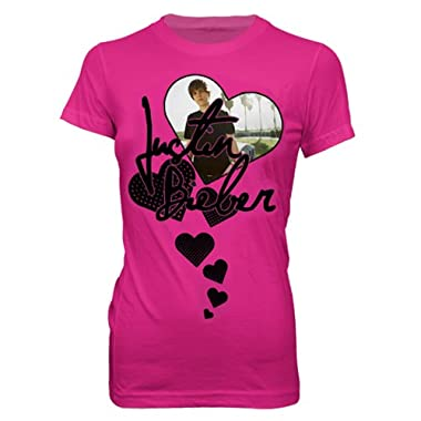 Product Image Justin Bieber Hearts Tee - Pink