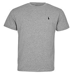 Polo Ralph Lauren Men Pony Logo T-Shirt (X-Large, Grey)
