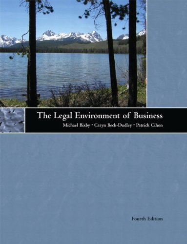The Legal Environment of Business (4th Edition)
